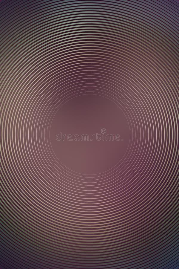 Абстрактная предпосылка цвета движения радиальная Texture effect иллюстрация штока