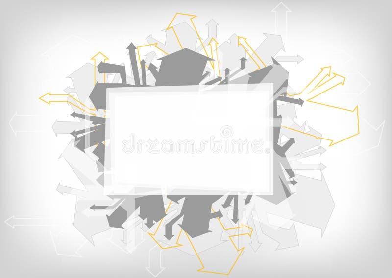 Абстрактная предпосылка цвета - красочная иллюстрация графического дизайна иллюстрация вектора