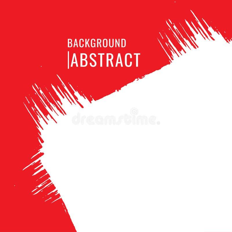 абстрактная предпосылка Щетки знамен grunge вектора красочные r иллюстрация вектора