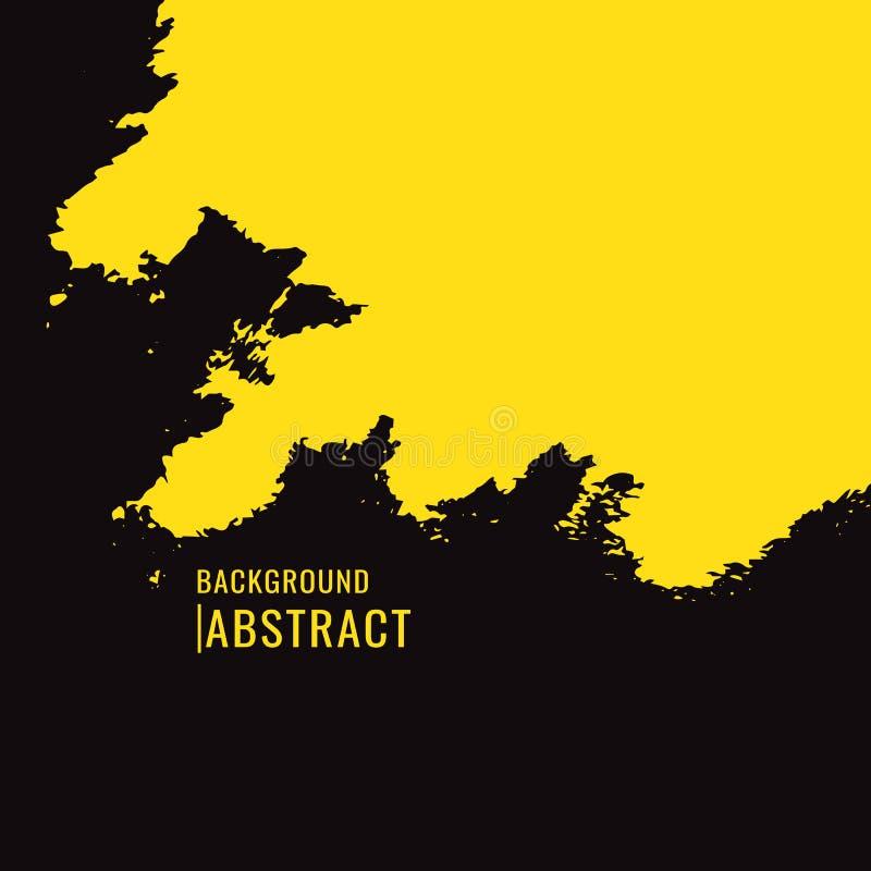 абстрактная предпосылка Щетки знамен grunge вектора красочные r бесплатная иллюстрация