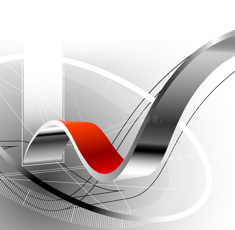 абстрактная предпосылка 3d иллюстрация вектора