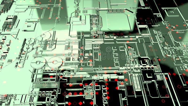 абстрактная предпосылка 3d представьте стоковая фотография rf