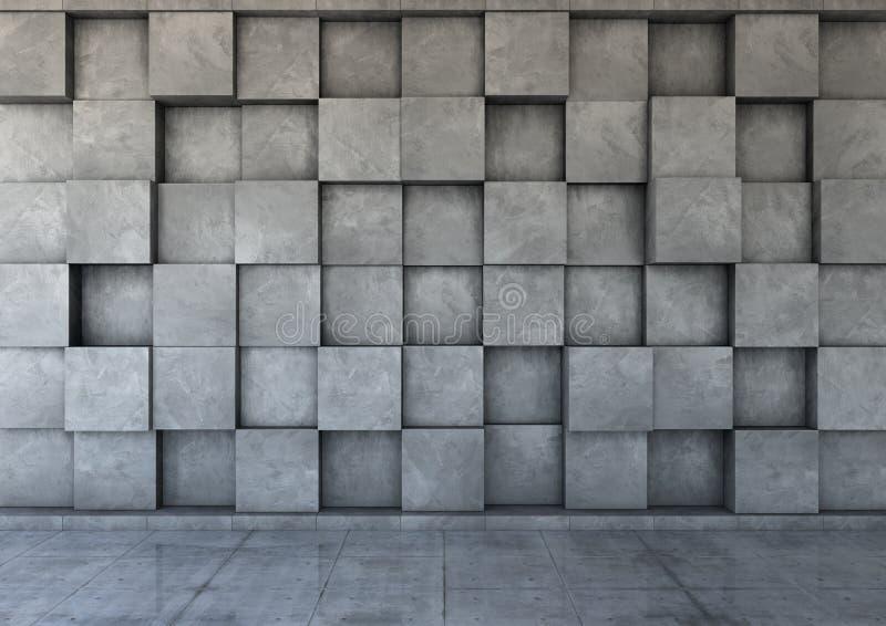 Абстрактная предпосылка бетона стоковое изображение