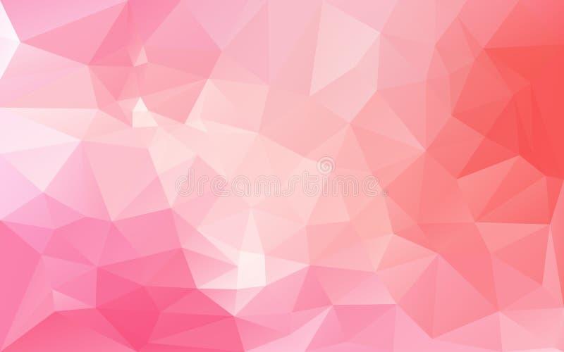 Абстрактная предпосылка в розовых тонах иллюстрация штока