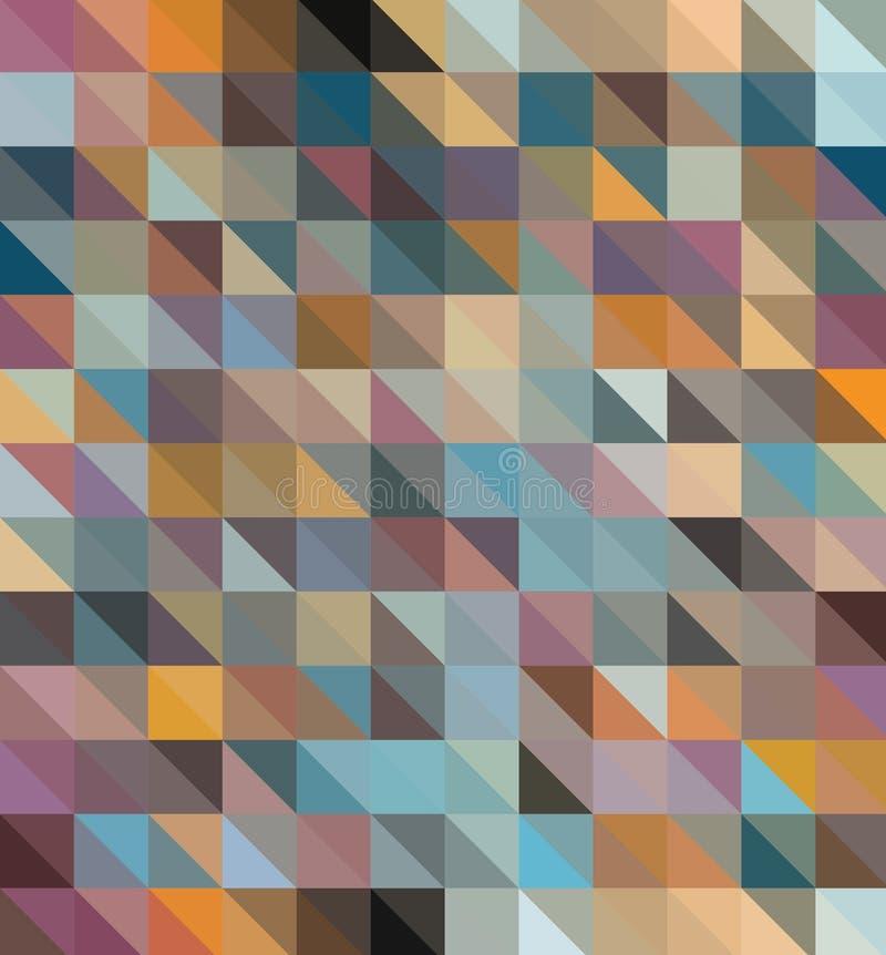 абстрактная предпосылка геометрическая Vector план дизайна для представлений дела, рогульки иллюстрация вектора