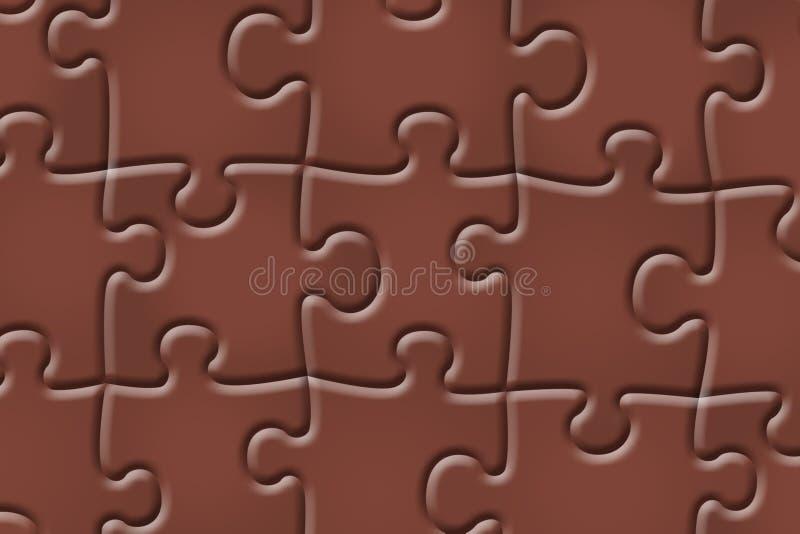 Абстрактная предпосылка головоломки бесплатная иллюстрация