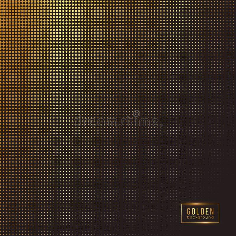 абстрактная предпосылка золотистая бесплатная иллюстрация