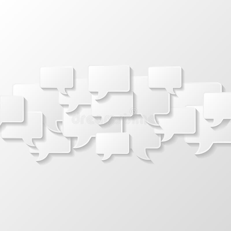 абстрактная предпосылка клокочет речь иллюстрация штока