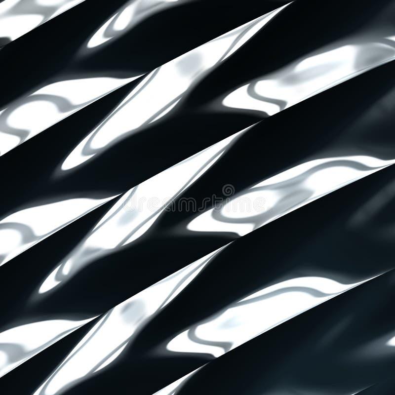абстрактная предпосылка металлическая иллюстрация вектора