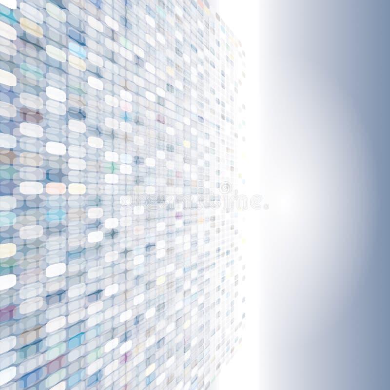 Абстрактная предпосылка пиксела бесплатная иллюстрация