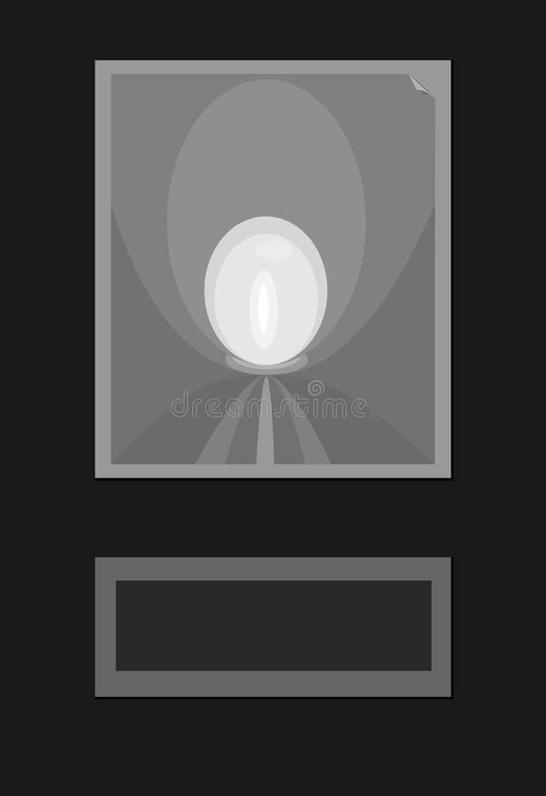 Абстрактная предпосылка простой черной серой белизны формирует делать обман зрения бесплатная иллюстрация