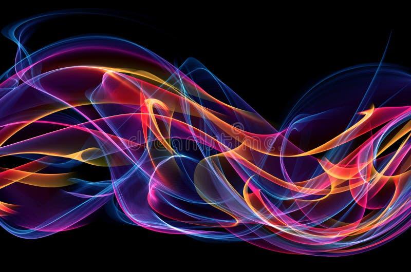 Абстрактная предпосылка пламени бесплатная иллюстрация