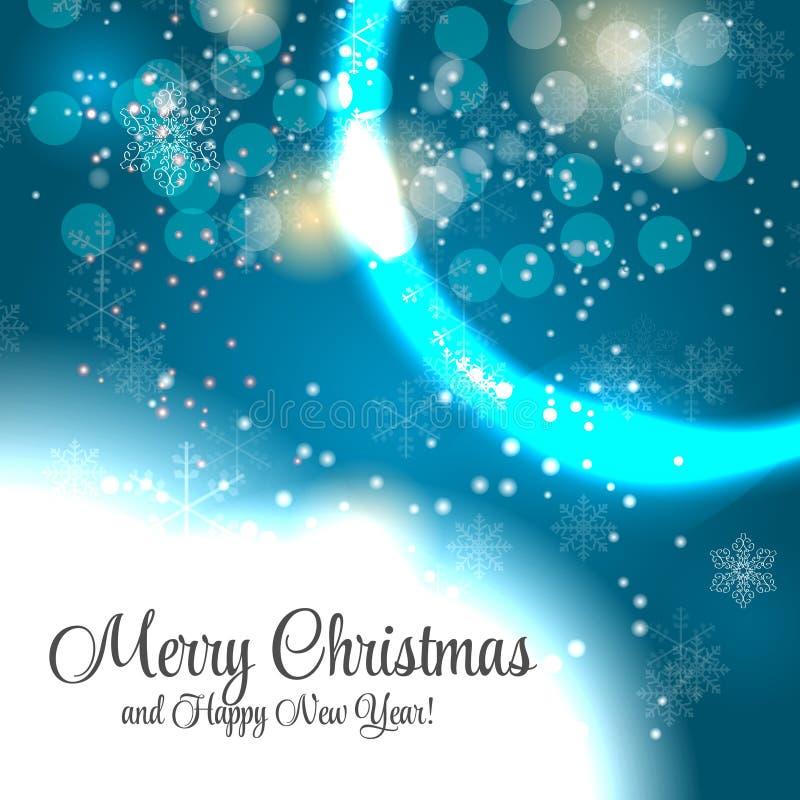 Абстрактная предпосылка рождества и Нового Года красоты. бесплатная иллюстрация