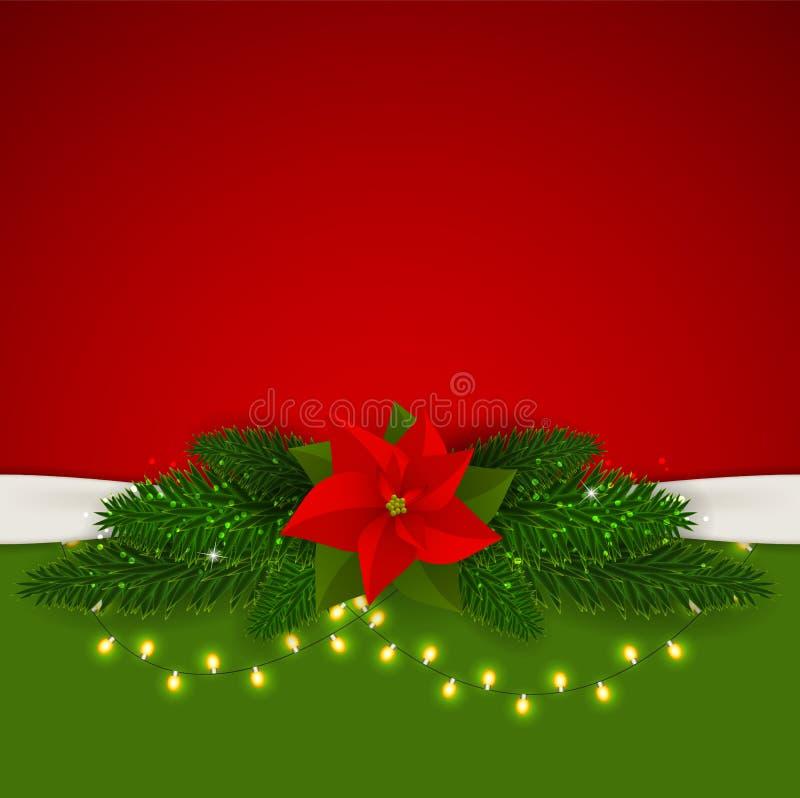 Абстрактная предпосылка рождества и Новый Год красотки бесплатная иллюстрация