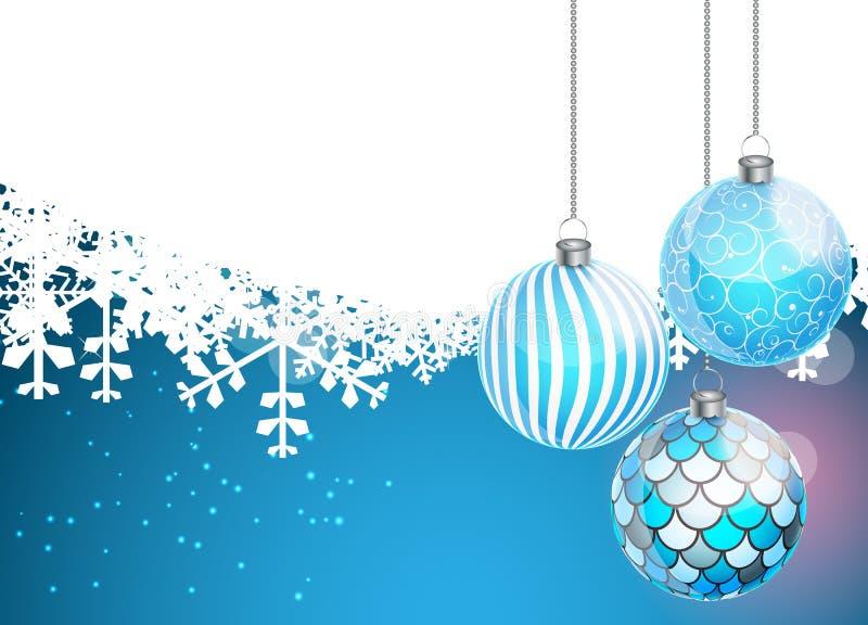 Абстрактная предпосылка рождества и Новый Год красотки иллюстрация штока