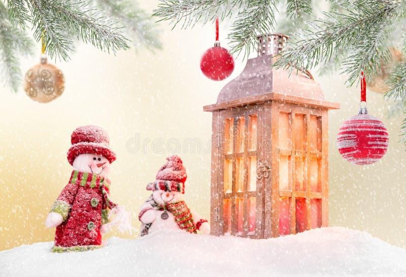 Абстрактная предпосылка рождества с светить antern иллюстрация штока