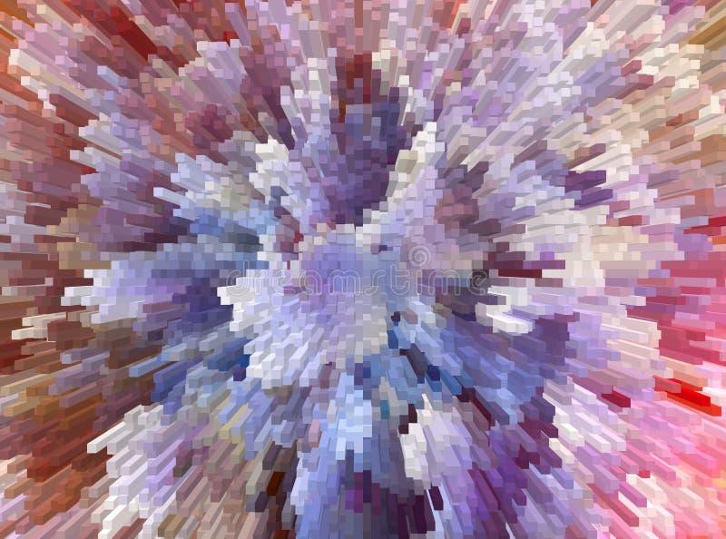 абстрактная предпосылка самомоднейшая Холодная острая конструкция бесплатная иллюстрация