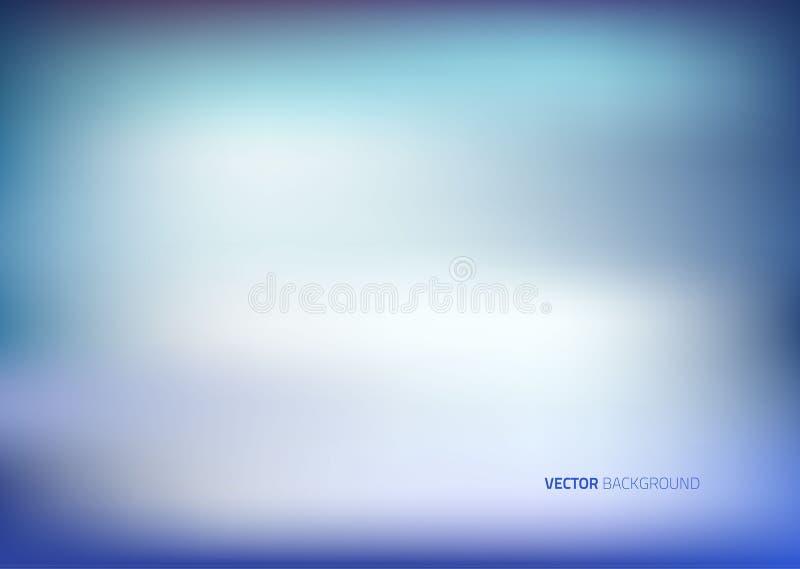 Абстрактная предпосылка сини нерезкости иллюстрация штока