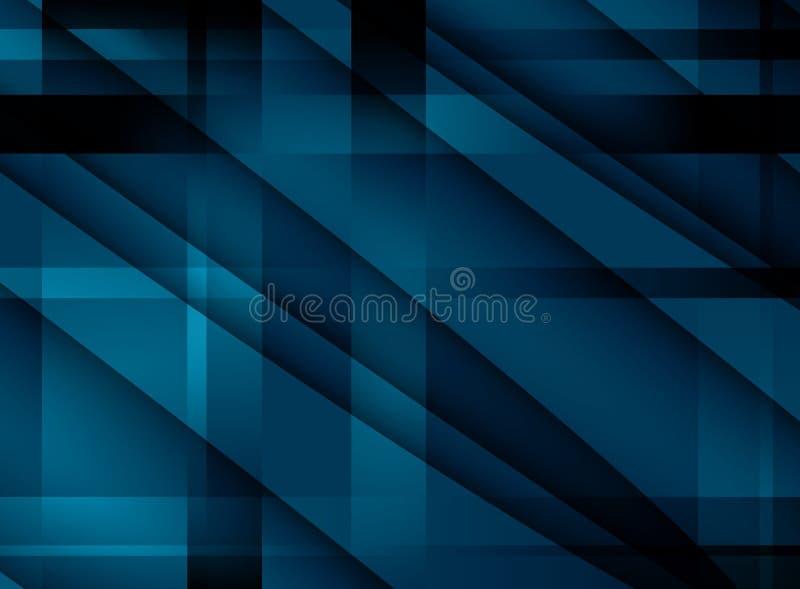 Абстрактная предпосылка с прозрачными пересеченными линиями иллюстрация штока