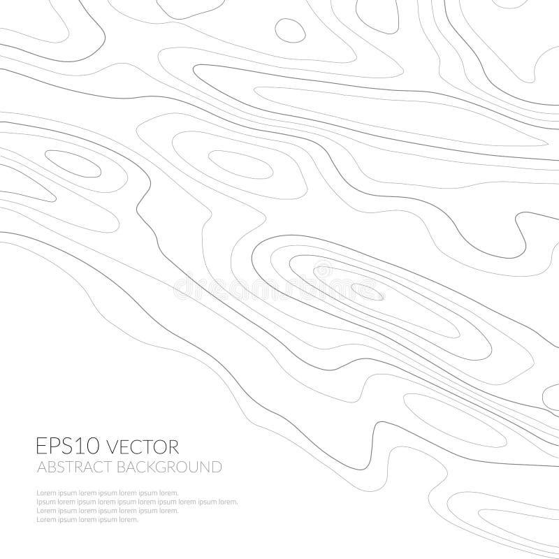 Абстрактная предпосылка с серыми линиями на белой предпосылке Линии на карте monochrome изображение Космос для текста бесплатная иллюстрация