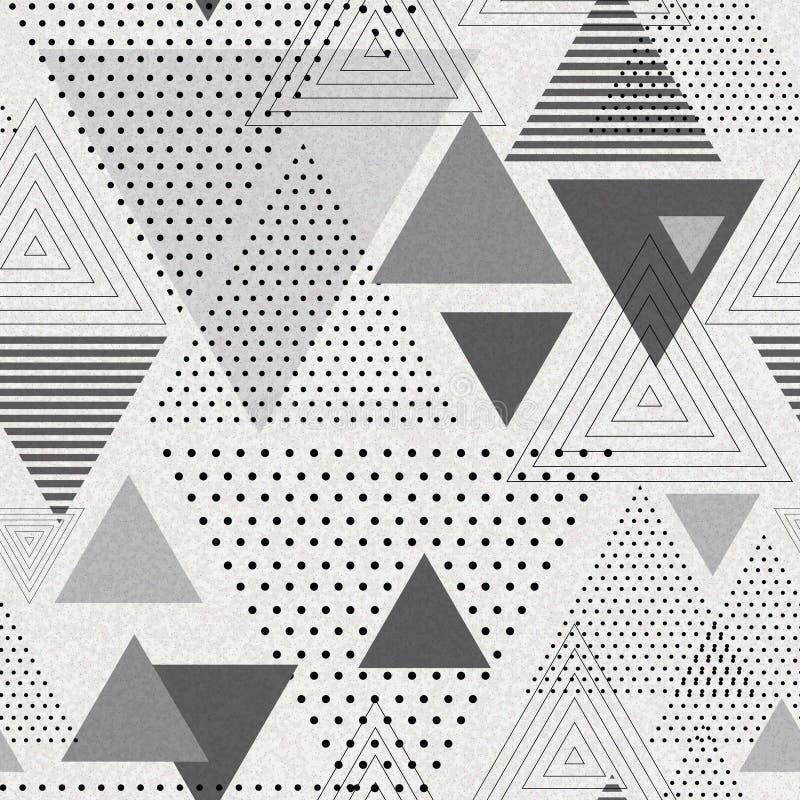 Абстрактная предпосылка треугольника poligon битника картина безшовная бесплатная иллюстрация