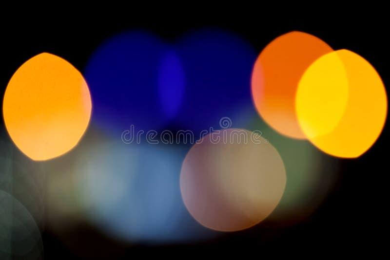 Абстрактная предпосылка фото с красочными светами стоковое изображение