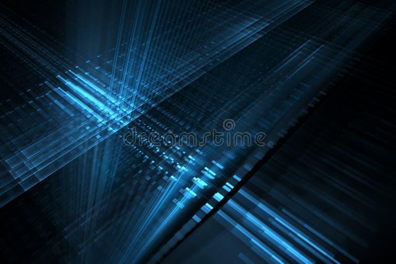 абстрактная предпосылка футуристическая иллюстрация вектора