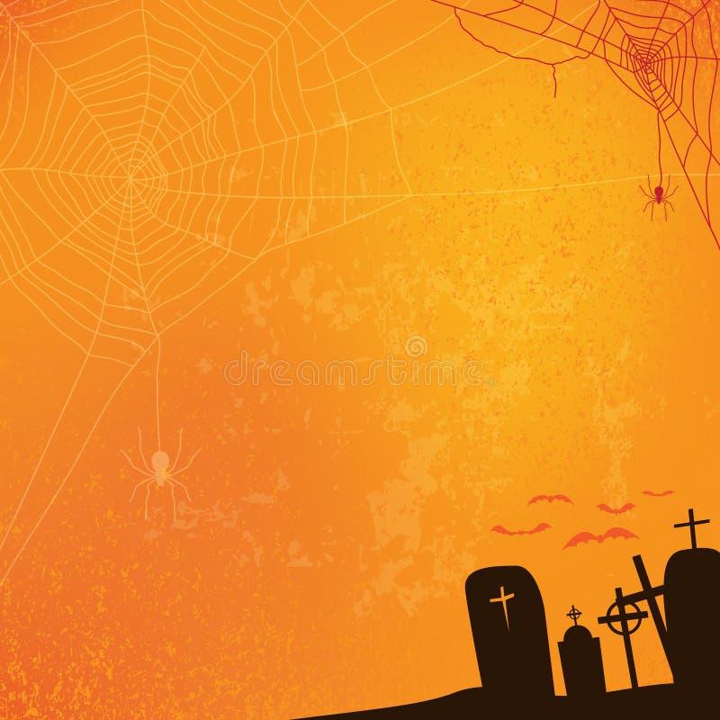 Абстрактная предпосылка хеллоуина, бесплатная иллюстрация