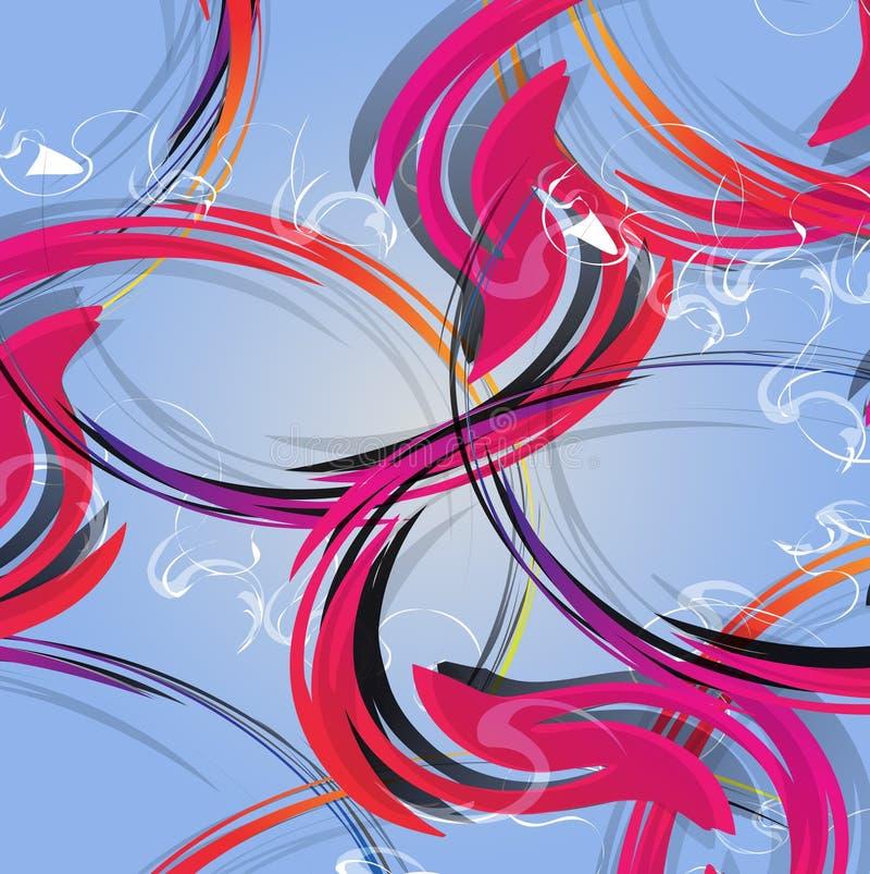 Download абстрактная предпосылка цветастая Картина современного дизайна Иллюстрация штока - иллюстрации насчитывающей график, цвет: 41660771