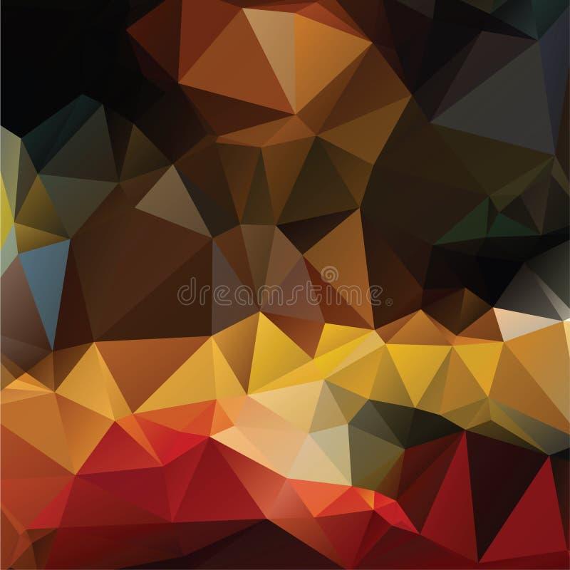 Download абстрактная предпосылка цветастая Иллюстрация вектора - иллюстрации насчитывающей сторонника, origami: 41654070