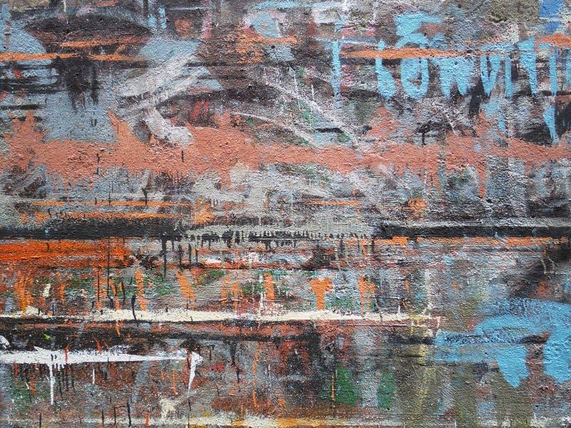 Абстрактная предпосылка цвета, иллюстрация grunge стоковые изображения