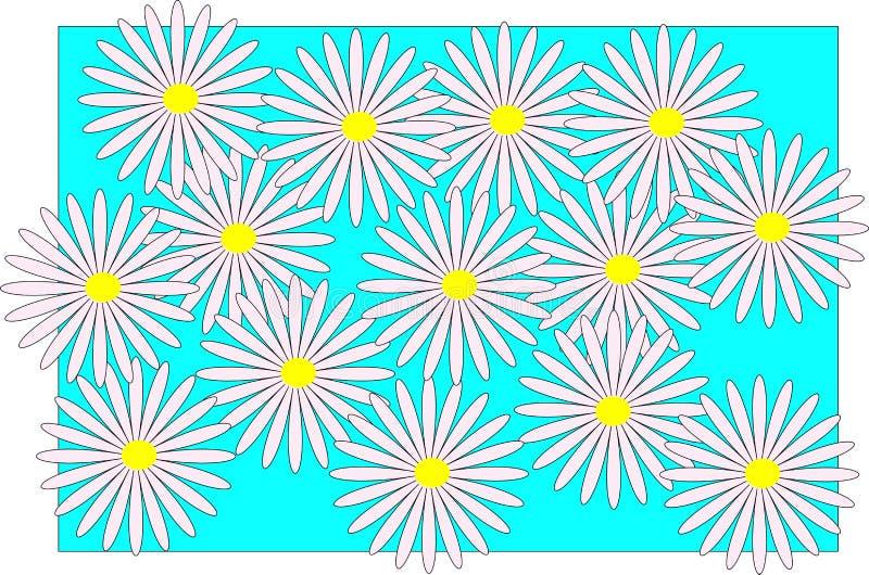 абстрактная предпосылка Цветы стоковые изображения