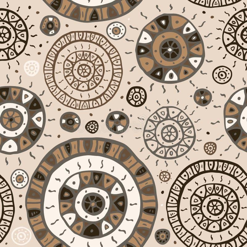 абстрактная предпосылка этническая иллюстрация вектора