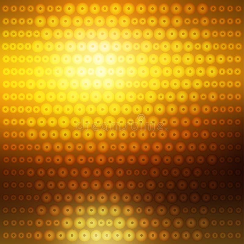 Абстрактная предпосылка sequins яркого блеска золота,  иллюстрация штока