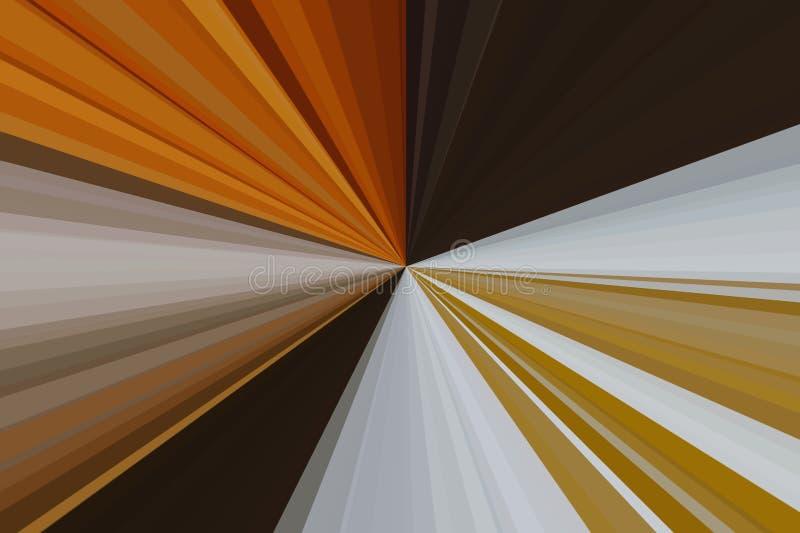 Абстрактная природа излучает предпосылку Красочная конфигурация пучка излучения нашивок Цвета тенденции стильной иллюстрации совр стоковые фотографии rf