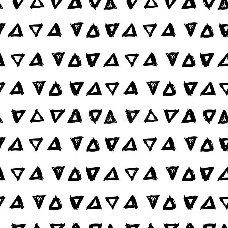 Абстрактная притяжки картина вручную безшовная стоковое фото