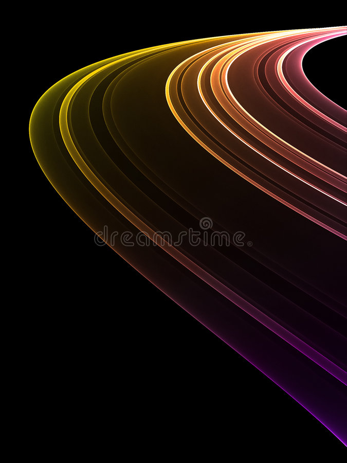 абстрактная радуга иллюстрация штока