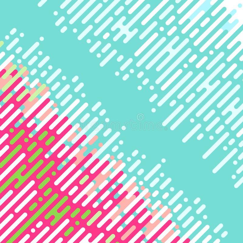 Абстрактная раскосная картина иллюстрация штока