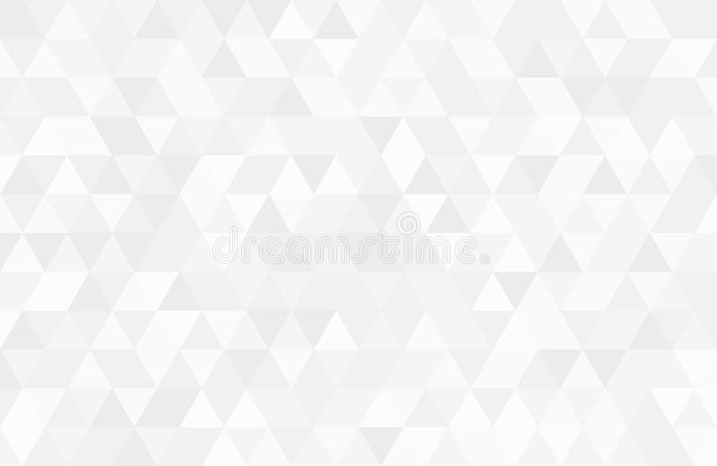 Абстрактная ретро картина геометрических форм Белый фон мозаики градиента Предпосылка геометрического битника триангулярная, стоковая фотография