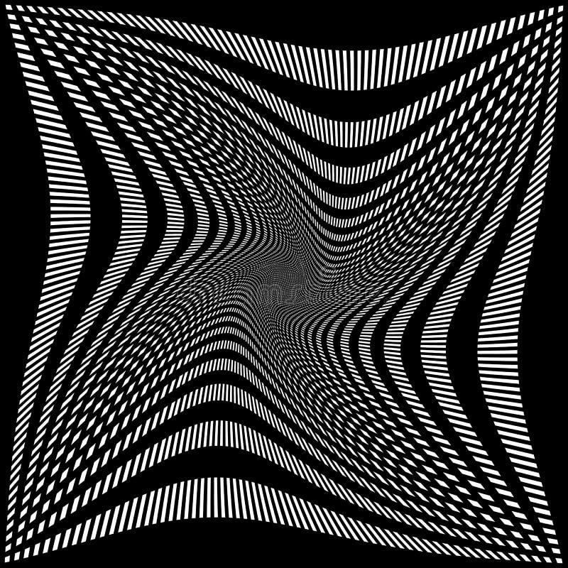 Download Абстрактная решетка, картина сетки с вращением, спиральным влиянием Иллюстрация вектора - иллюстрации насчитывающей backhoe, разносторонне: 81810106