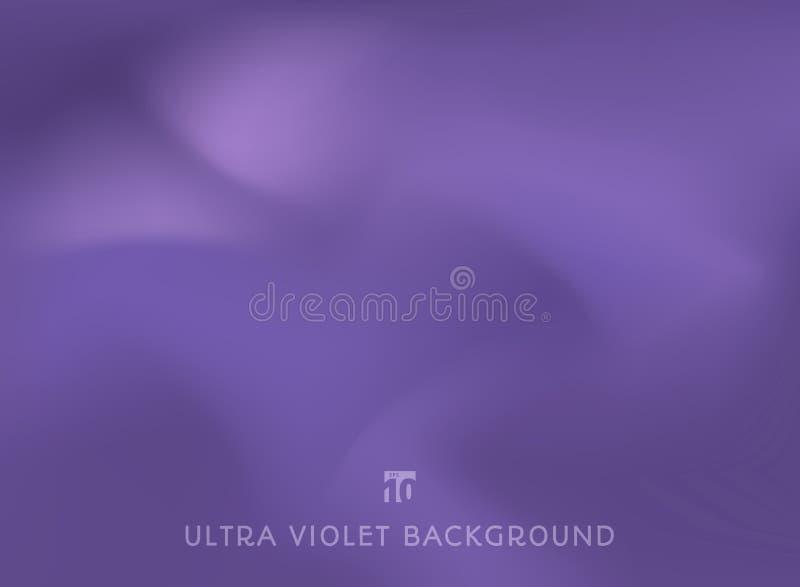 Абстрактная ровная ультрафиолетов ультрамодная предпосылка цвета иллюстрация вектора