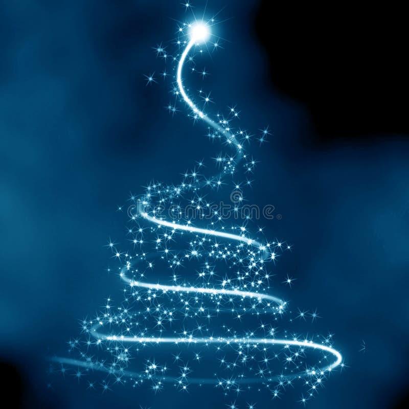 Абстрактная рождественская елка бесплатная иллюстрация