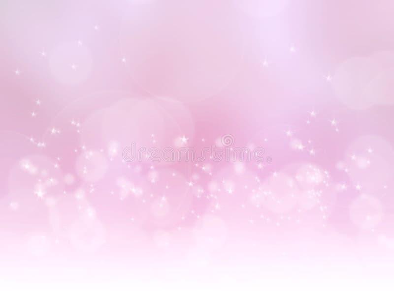 Абстрактная розовая волшебная предпосылка стоковое фото