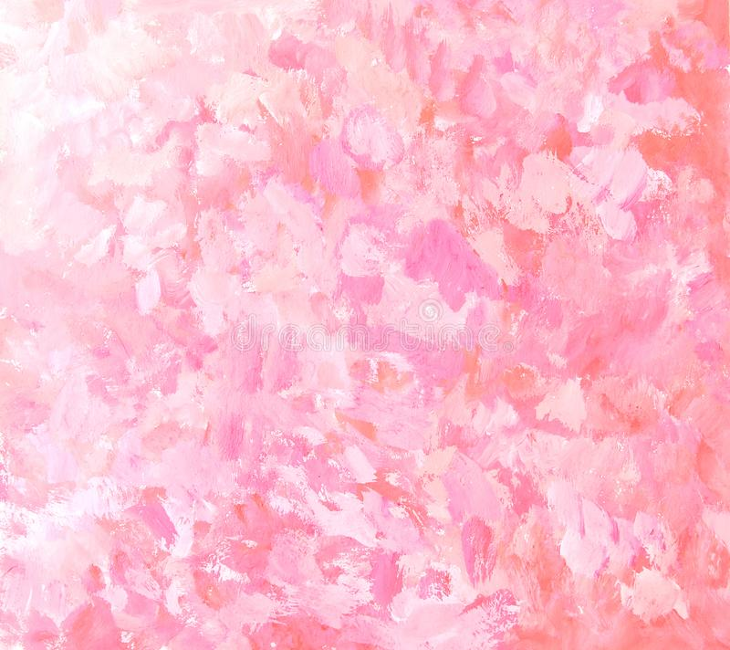 Абстрактная розовая предпосылка картины brushstroke бесплатная иллюстрация