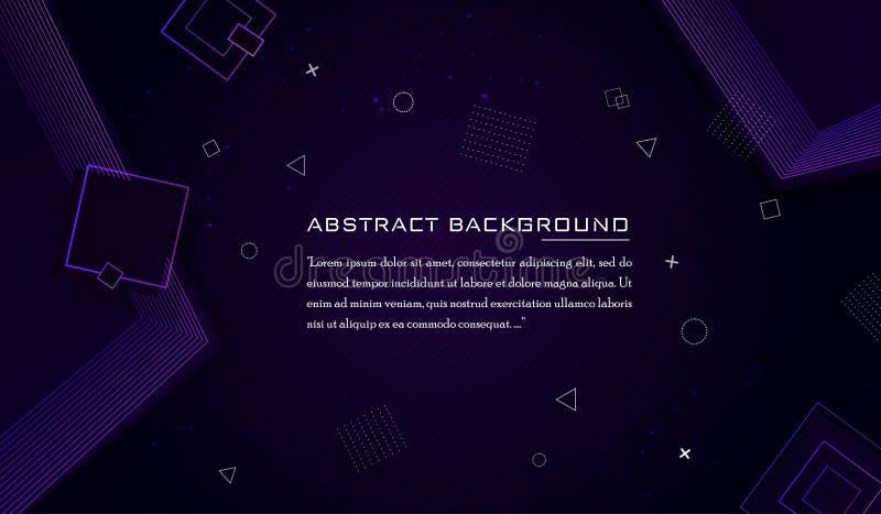 Абстрактная роскошная и современная геометрическая предпосылка бесплатная иллюстрация