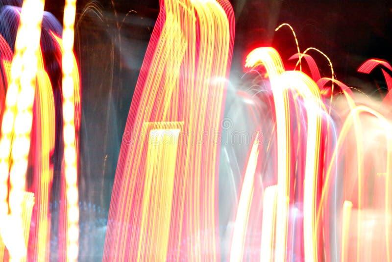Абстрактная светлая предпосылка на движении стоковые фото