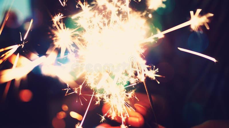 Абстрактная светлая предпосылка фестиваля и партий стоковое фото