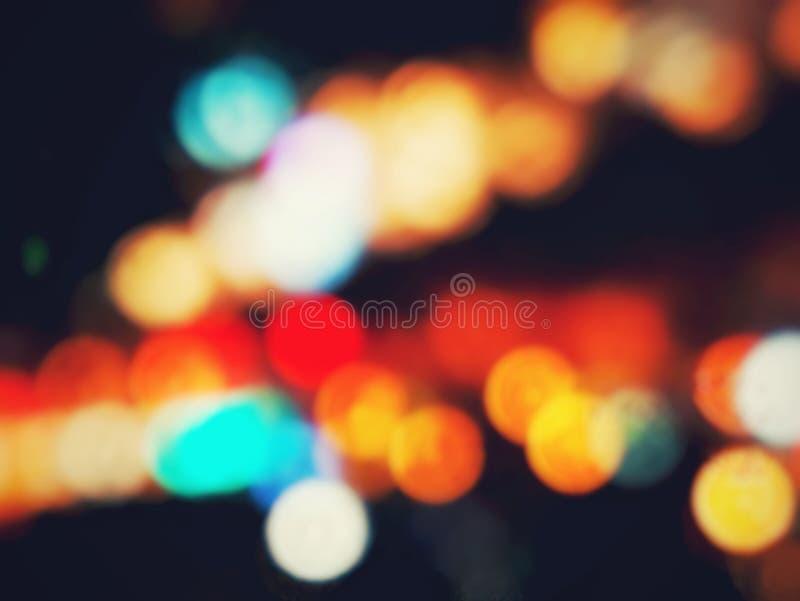 Абстрактная светлая предпосылка Bokeh стоковые фотографии rf