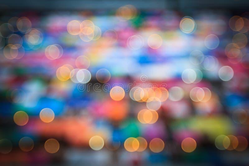 Абстрактная светлая круговая предпосылка bokeh стоковое изображение