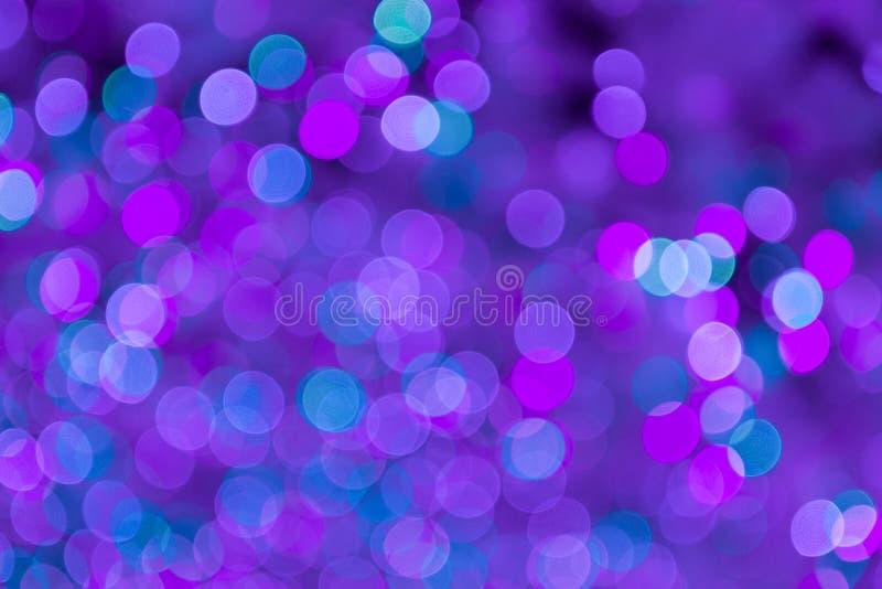 Абстрактная светлая предпосылка нерезкости торжества стоковое фото rf